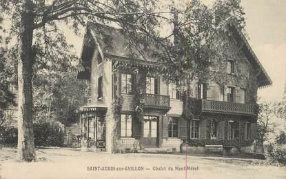 """CPA FRANCE 27 """" St Aubin sur Gaillon, Chalet du Mont Mérel""""."""