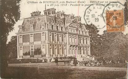 "CPA FRANCE 27 "" Souvilly, Le château""."