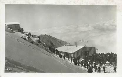 """CPSM FRANCE 74 """" St Gervais les Bains, Chalet de la Tête Rousse"""".."""