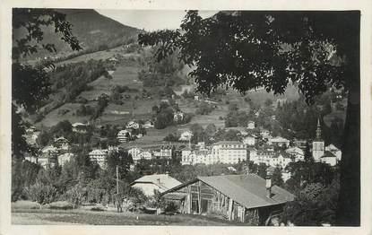 """CPSM FRANCE 74 """" St Gervais les Bains, Vue générale""""."""