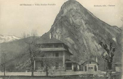 "CPA FRANCE 74 "" Thônes, Villa Roche Paradis""."
