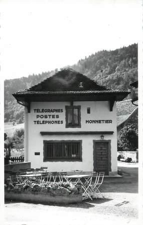 """CARTE PHOTO FRANCE 74 """" Monnetier, La Poste""""."""