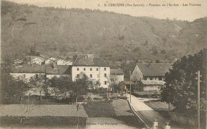 "CPA FRANCE 74 "" St Cergues, Pension de l'Archet'."
