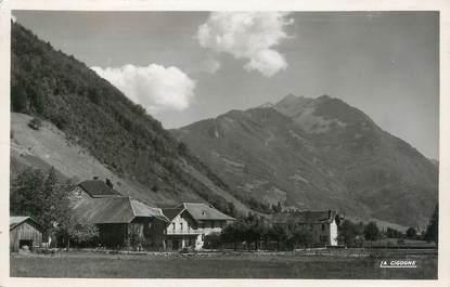 """CPSM FRANCE 74 """" Viuz, Le Mont Charvin""""."""