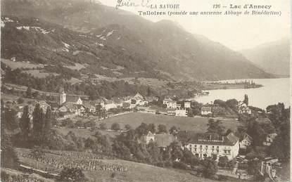 "CPA FRANCE 74 "" Talloires, Le Lac d'Annecy""."