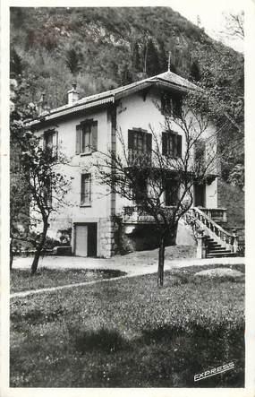 """CPSM FRANCE 74 """" St Jeoire, Les Cyclamens Home d'Enfants""""."""