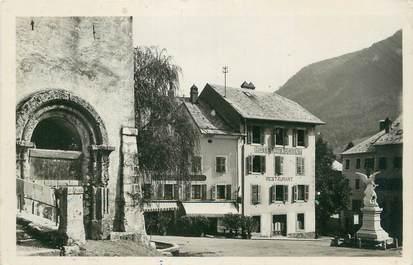 """CPSM FRANCE 74 """" St Jeoire, La place""""."""