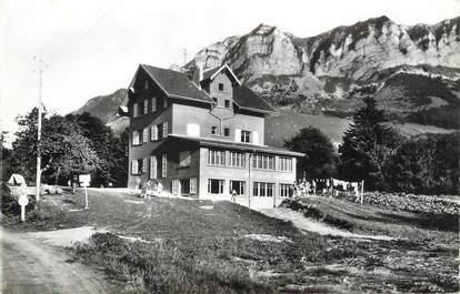"""CPSM FRANCE 74 """" Thollon, Chez Cachat""""."""