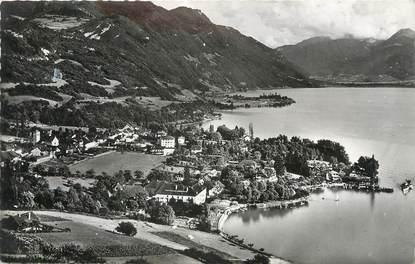 """CPSM FRANCE 74 """" Talloires, Le Lac d'Annecy""""."""