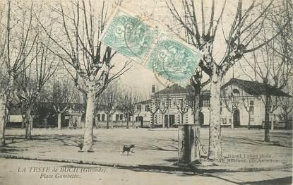 "CPA FRANCE 33 ""La Teste de Buch, Place Gambetta"""