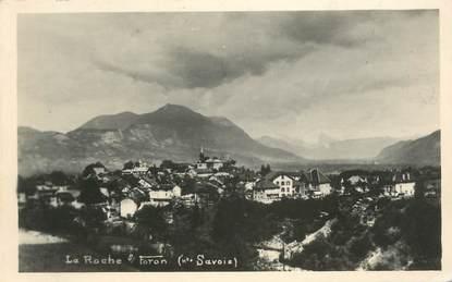 """CPSM FRANCE 74 """"La Roche sur Foron""""."""
