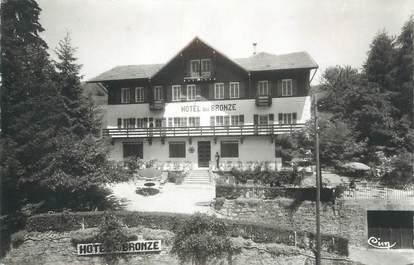 """CPSM FRANCE 74 """"Mont Saxonnex, Hôtel du Bronze""""."""