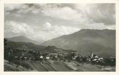 """CPSM FRANCE 74 """"Mercury, Vue générale Mont Blanc'."""