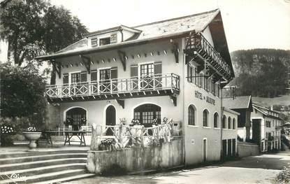 """CPSM FRANCE 74 """"Mont Saxonnex, Hôtel du Jalouvre""""."""