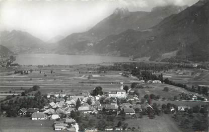 """CPSM FRANCE 74 """"Doussard, Le Lac d'Annecy""""."""