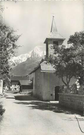 """CPSM FRANCE 74 """"Les Houches, La Chapelle de la Priaz""""."""