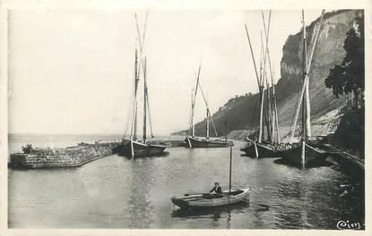 """CPSM FRANCE 74 """" Meillerie, Le port""""."""