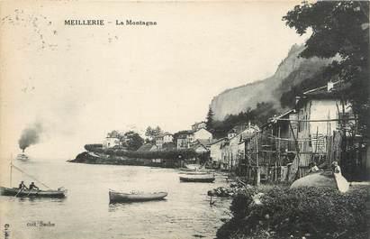 """CPA FRANCE 74 """" Meillerie, La montagne""""."""