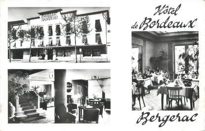 """CPSM FRANCE 24 """" Bergerac, Hôtel de Bordeaux""""."""