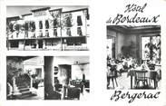 """24 Dordogne CPSM FRANCE 24 """" Bergerac, Hôtel de Bordeaux""""."""
