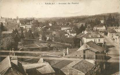 "CPA FRANCE 24 "" Sarlat, Avenue du Pontet'."