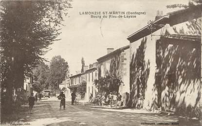 "CPA FRANCE 24 "" Lamonzie St Martin, Bourg du Rieu de Laysse"";"