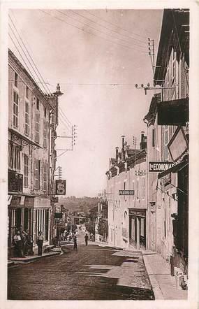 """CPA FRANCE 24 """" Thiviers, Rue du Général Lamy""""."""