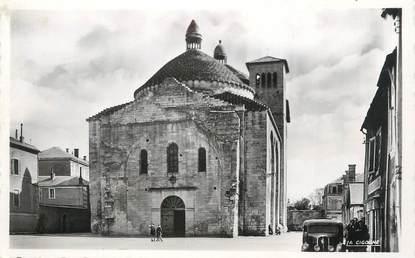 """CPSM FRANCE 24 """" Périgueux, Eglise St Etienne de la Cité""""."""