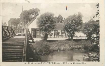 """CPA FRANCE 62 """" Environs de Montreuil sur Mer, La Grenouillère""""."""