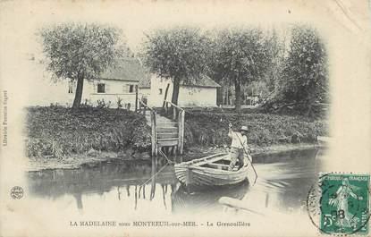 """CPA FRANCE 62 """" La Madelaine sous Montreuil sur Mer, La Grenouillère""""."""