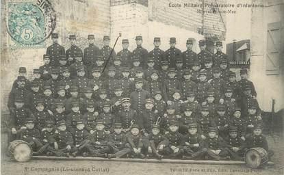 """CPA FRANCE 62 """" Montreuil sur Mer, Ecole militaire préparatoire d'infanterie'."""