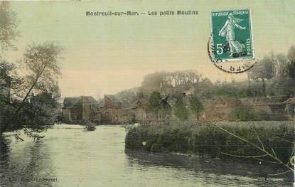 """CPA FRANCE 62 """" Montreuil sur Mer, Les petits moulins""""."""