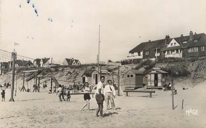 "CPSM FRANCE 62 "" Merlimont, La plage""."