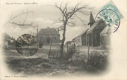 "CPA FRANCE 62 "" Wissant, Eglise et Mairie""."