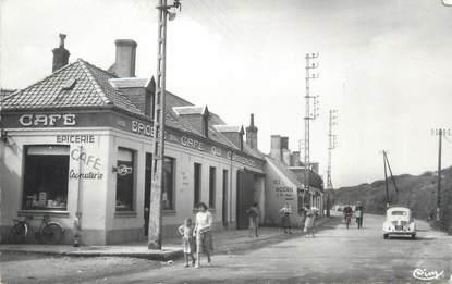 """CPSM FRANCE 62 """" Sangatte, Route Nationale""""."""