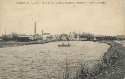 """CPA FRANCE 62 """"St Folquin""""."""