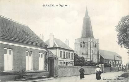 "CPA FRANCE 62 "" Marck, Eglise""."