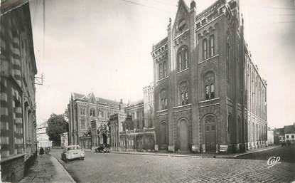"""CPSM FRANCE 62 """" St Omer, Le collège St Bertin""""."""