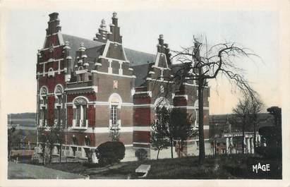 """CPSM FRANCE 62 """" Marles les Mines, L'Hôtel de Ville""""."""