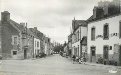 """CPSM FRANCE 29 """" Riec sur Belon, Rue du centre""""."""