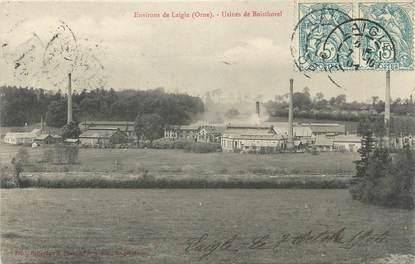"""CPA FRANCE 61 """" Environs de L'Aigle, Usines de Boisthorel'."""