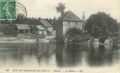 "CPA FRANCE 61 "" Haleine, Le moulin""."