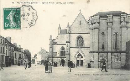 "CPA FRANCE 61 "" Mortagne, Eglise Notre Dame'."
