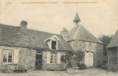 """CPA FRANCE 61 """" Bagnoles de l'Orne, Chapelle miraculeuse de St Ortaire'."""