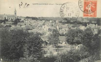 "CPA FRANCE 61 "" Ste Gauburge,Vue générale""."