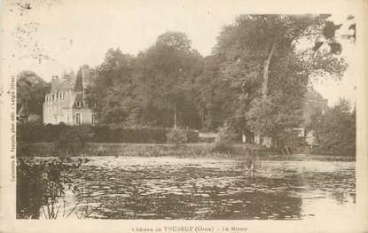 """CPA FRANCE 61 """" Le château de Thubeuf, Le Miroir'."""
