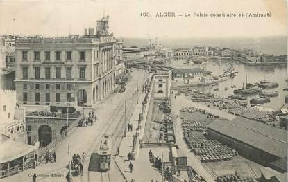 """CPA ALGERIE """"Alger, le palais consulaire"""""""