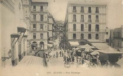 """CPA ALGERIE """"Alger, Rue Marengo"""""""