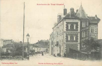 """CPA FRANCE 54 """"Environs de Toul, Entrée du Faubourg St Epvre""""."""