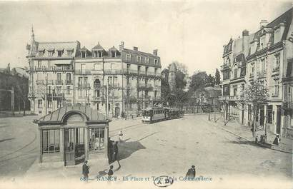 "CPA FRANCE 54 ""Nancy, La place et tour de la Commanderie""."